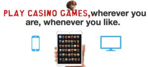 NetEnt Casino mobile.