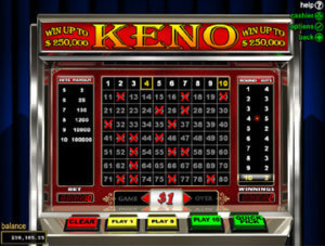 New Zealand online keno no download