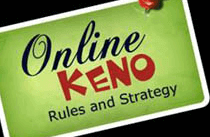 New Zealand online keno strategy