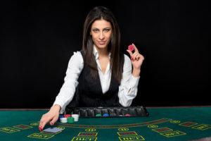 Image of Live Dealer Casino Female Dealer