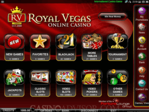 Royal Vegas Casino Games for New Zealand Players