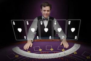 Live Dealer Casino Male Dealer