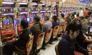 JAPAN PLANS TO LIMIT NUMBER OF CASINO GAMBLERS IN A CASINO.