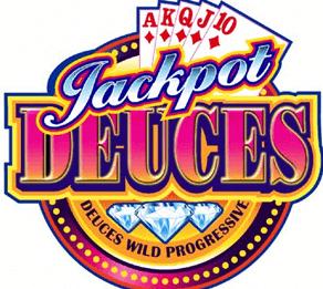 Jackpot Deuces Progressive Casino game in New Zealand.
