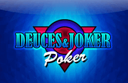 deuces and joker power.