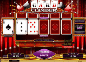 Card Climber Casino Game in Canada.