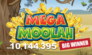 Mega Moolah in New Zealand.