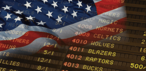 US sports betting sector legalised.