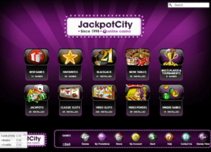 Jackpots City Casino games