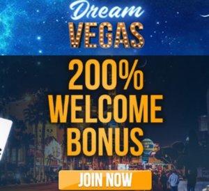 Dream Vegas Casino Welcome Bonus
