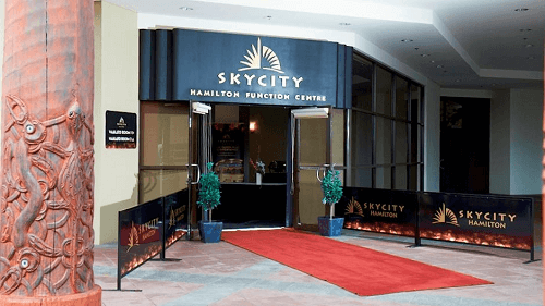 SkyCity Hamilton Casino entrance