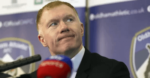 Paul Scholes' Betting Rules Breach