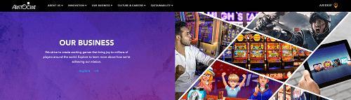 Aristocrat website
