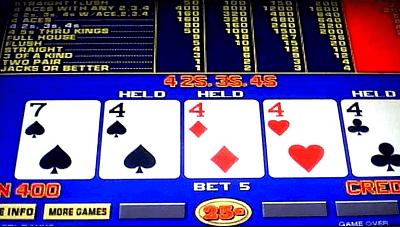 video poker myths debunked