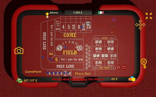Craps Table Mobile NZ
