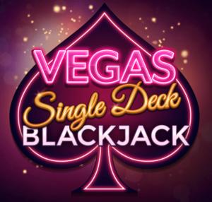 Vegas Single Deck Blackjack NZ